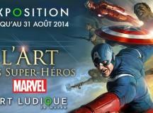Les super héros Marvel débarquent à Paris au musée Art Ludique !