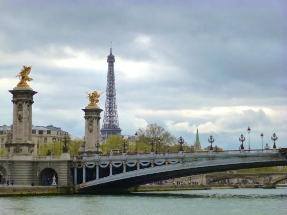 Pont Alexandre 3 Tour Eiffel