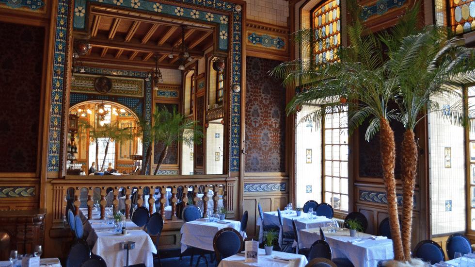 La brasserie La Cigale, une institution à Nantes