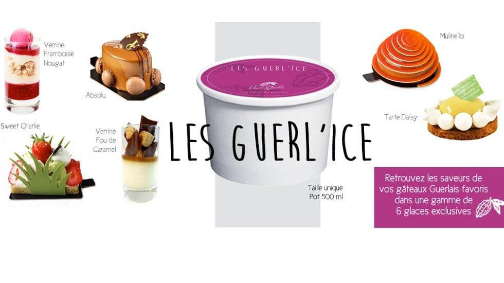 Les GUERL'ICE : les premières glaces de Vincent Guerlais