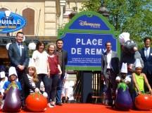 Anne Hidalgo inaugure «la Place de Rémy» à Disneyland Paris