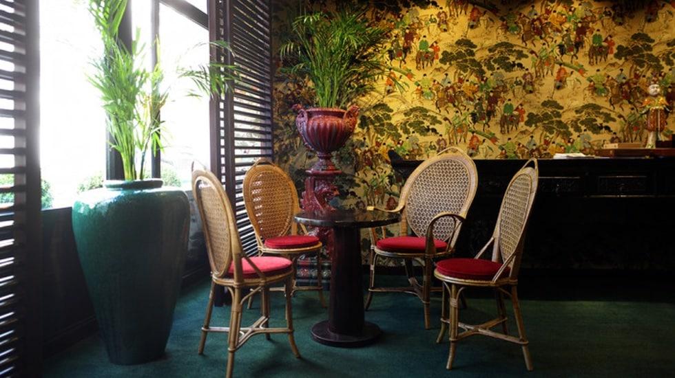 Le Jardin Vauclair, bar éphémère du Renaissance Paris Vendôme