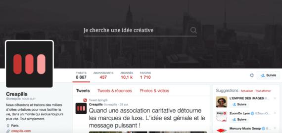 profil twitter creapills