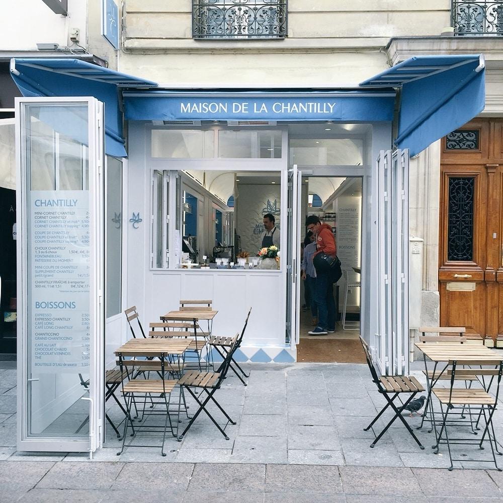 La maison de la chantilly la nouvelle adresse des gourmands paris - Cultiver des champignons de paris a la maison ...