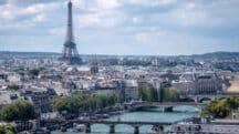 Paris vu du sommet de la Tour Saint-Jacques
