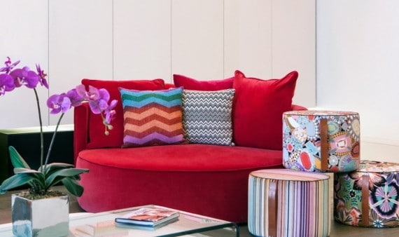 Missoni home for Amara exclusive