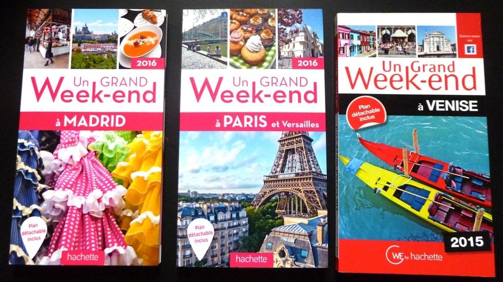 """Voyagez en allant à l'essentiel avec les guides Hachette Tourisme """"Un Grand Week-end"""""""
