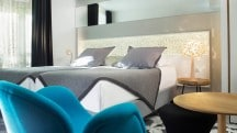 L'hôtel Chavanel, un cocon tout en dentelle au design contemporain