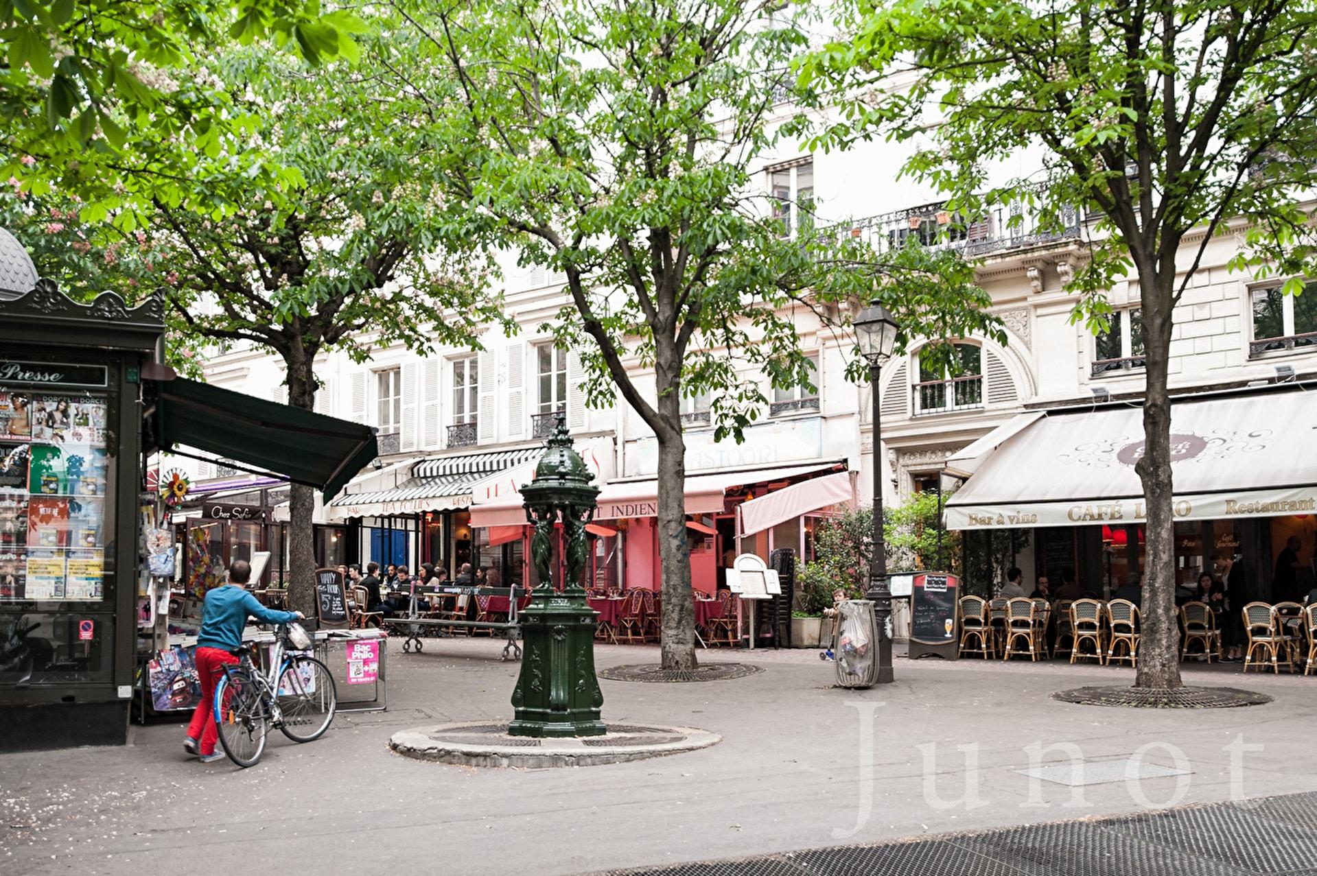 Place Gustave Toudouze Restaurant Indien