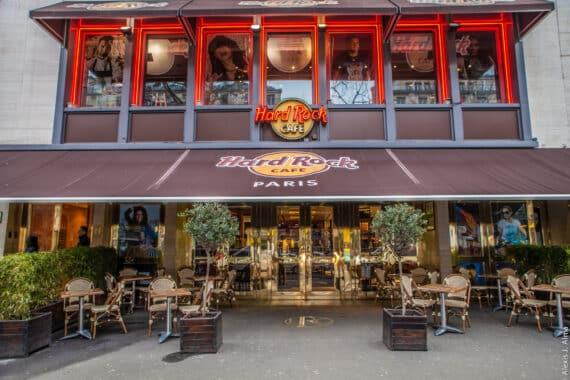 Hard Rock Café Paris, une cuisine 100% US dans une ambiance rock