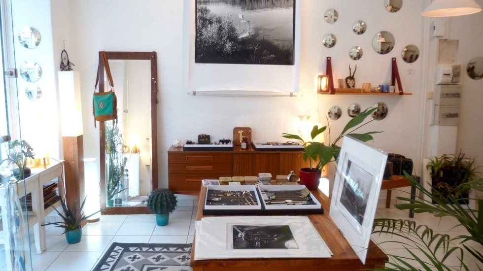 La boutique de Mathilde C., entre concept store et galerie d'art