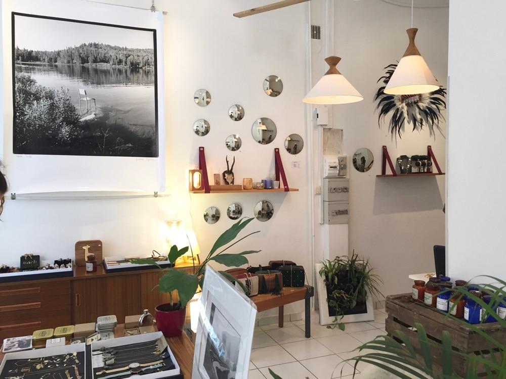 la boutique de mathilde c entre concept store et galerie. Black Bedroom Furniture Sets. Home Design Ideas