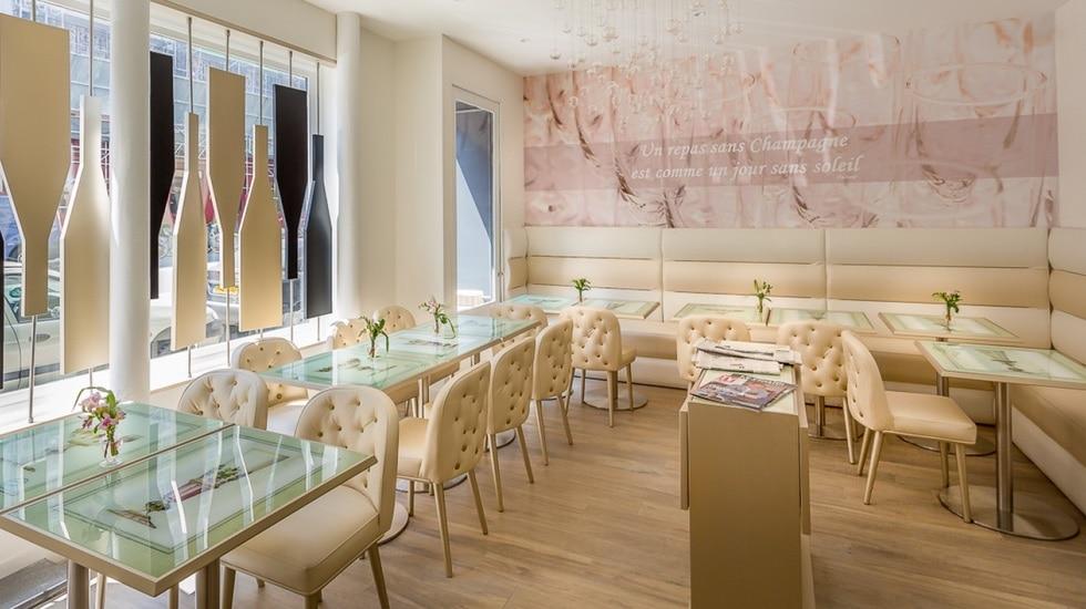 Un tea-time champagne à l'hôtel Les Bulles de Paris