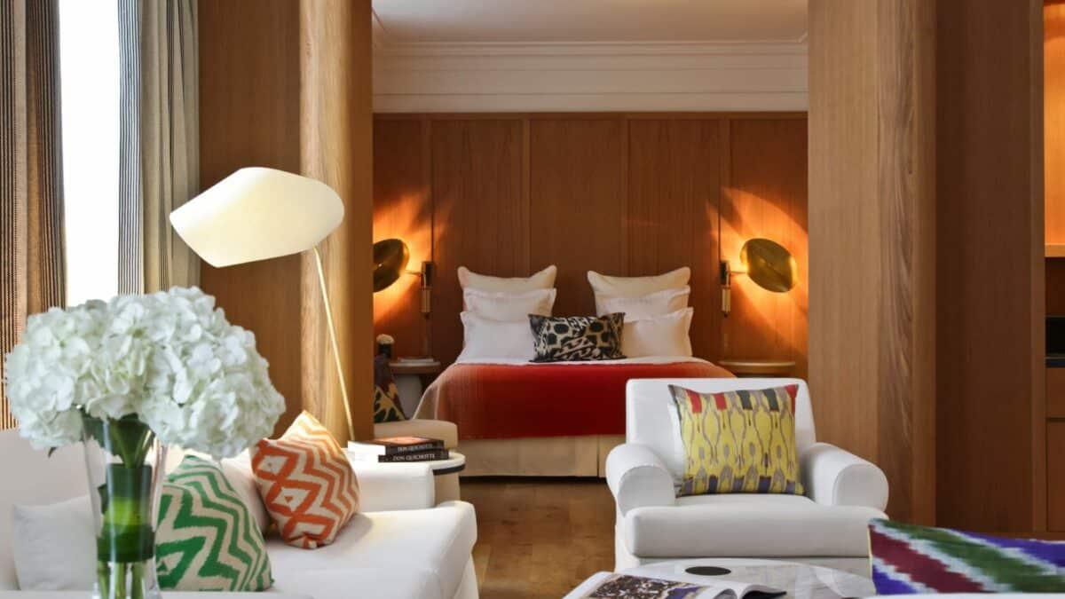 L'Hôtel Vernet, un luxe subtile au caractère contemporain