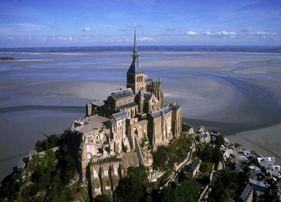 Abbaye du Mont-Saint-Michel © Marc Rapillard, Centre des Monuments nationaux