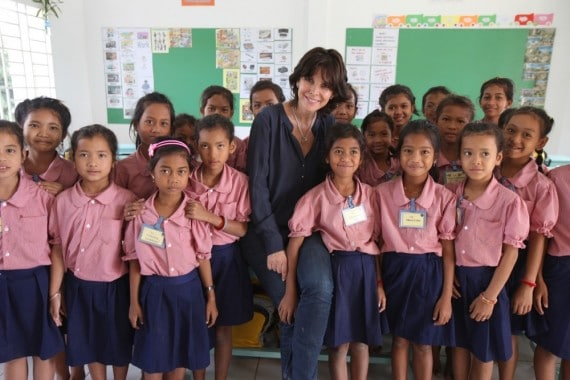 Ecole Cambodge. Toutes à l'Ecole.