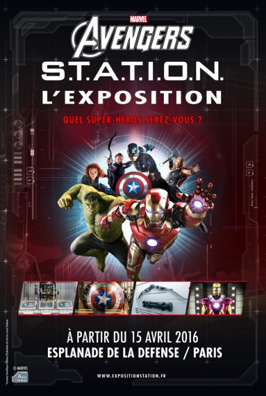40x60 Marvel Avengers S.T.A.T.I.O.N
