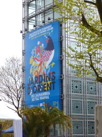 Expo Jardins d'Orient Institut du monde arabe 11