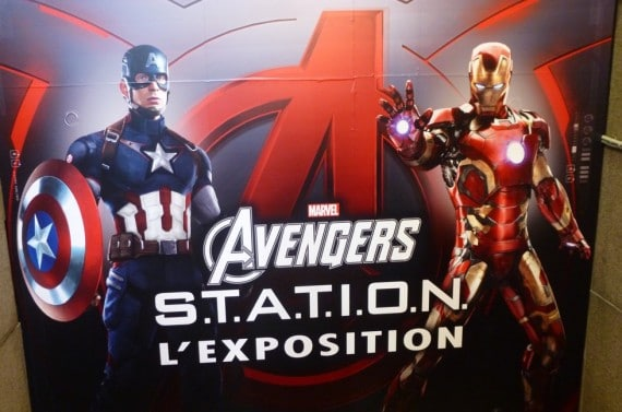 Expo Marvel Avengers Station 18