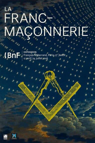 affiche-bnf-2016-gd franc maçonnerie