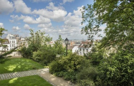 Les jardins renoir lieu secret de la butte montmartre - Les jardins de montmartre ...