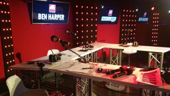 session très très privée RTL2 Ben Harper 7