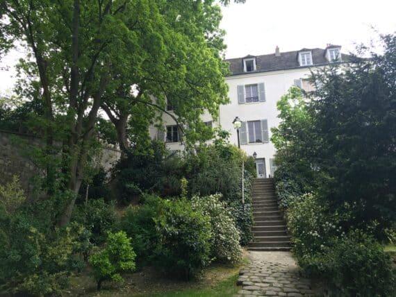 Jardins Renoir Montmartre 8