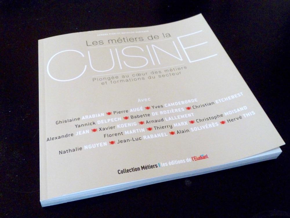 """Les métiers de la cuisine : """"Une passion, une chance, un défi !"""" Mathilde Aubinaud"""