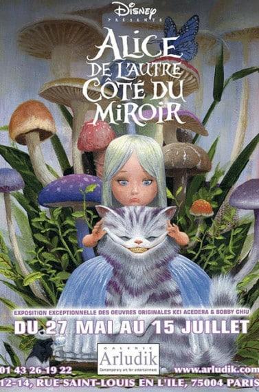 expo Alice de l'autre cté du miroir galerie arludik