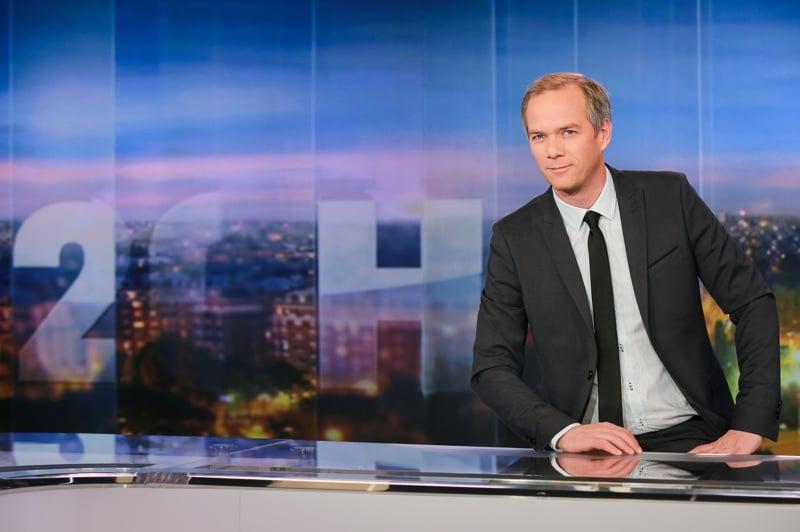 Dans les coulisses du JT de 20h de TF1 avec Julien Arnaud