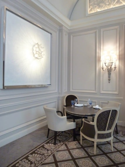Restaurant Le george Four seasons paris 9