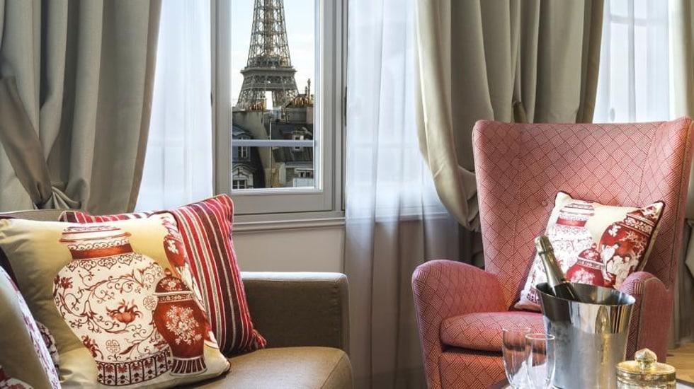 La Clef Tour Eiffel, la résidence hôtelière The Ascott Limited mode et chic