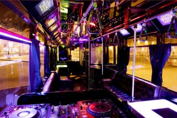 soirée bus discothèque