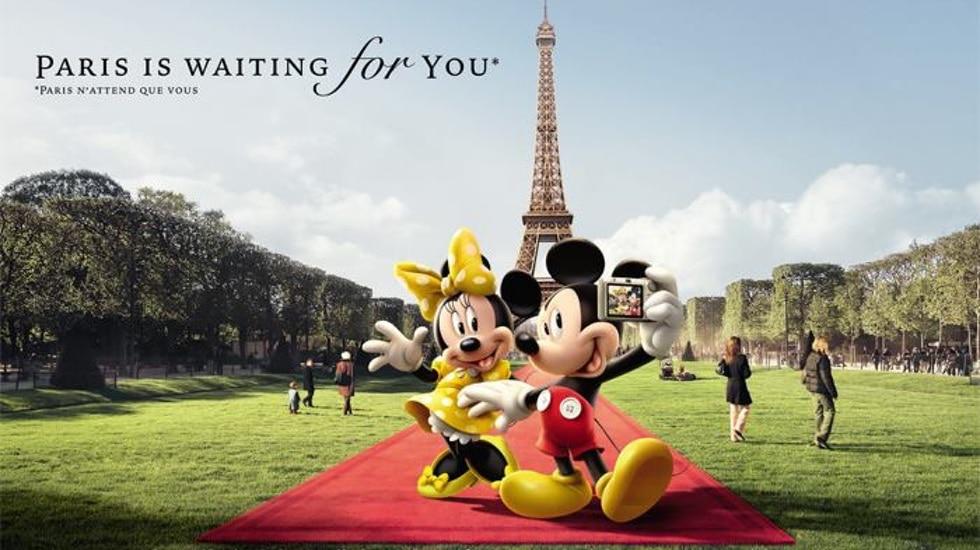 Paris is waiting for you : quand la magie de Disneyland Paris réenchante la capitale !