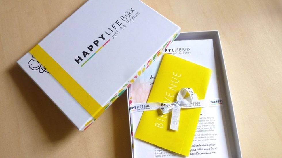 Happy Life Box, la première box consacrée au développement personnel