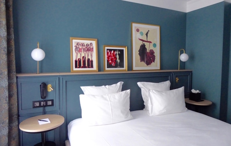 Les amateurs de vin choisissent le XO Hotel Paris