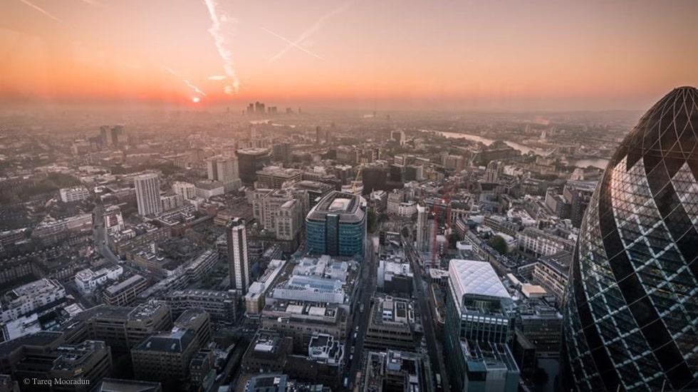 Tareq Mooradun sublime l'architecture de Londres sur Instagram