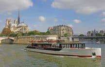 Embarquez pour une croisière sur la Seine avec Les Vedettes de Paris