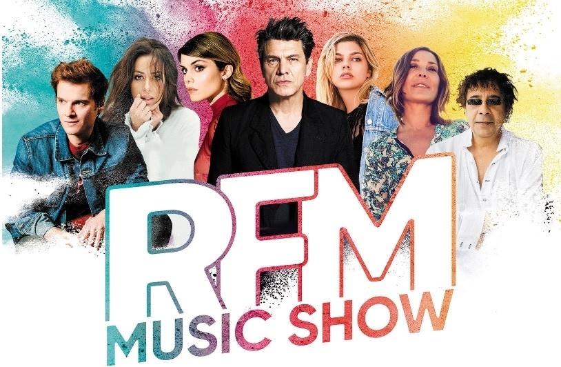 Le 16 juin, c'est la 4è édition du RFM Music Show !