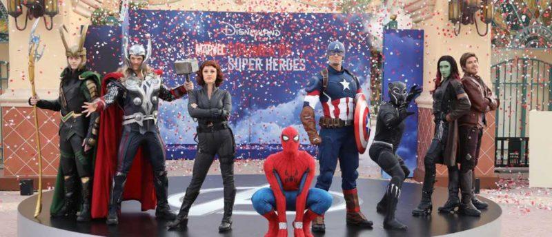 Cet été, les Super Héros Marvel font le show à Disneyland Paris !