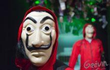 Le gang de La Casa de Papel débarque au musée Grévin