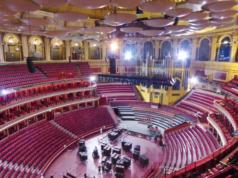 Le Royal Albert Hall, une salle de spectacle iconique à Londres