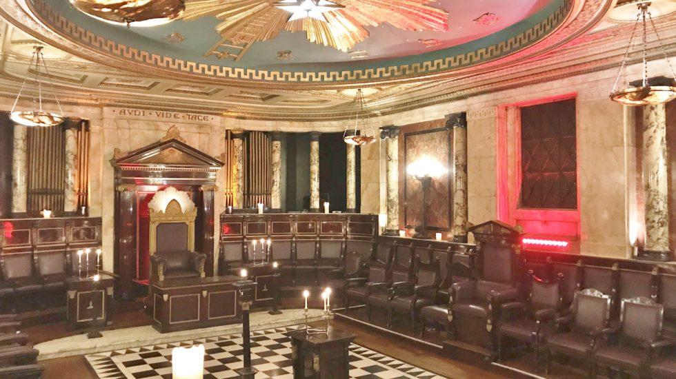 Un temple maçonnique caché dans l'hôtel Andaz à Londres
