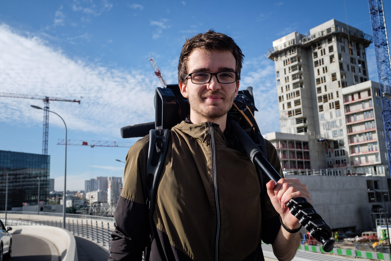 """Clément Lanot, JRI Freelance """"Le journalisme est un métier de passion, surtout sur le terrain !"""""""