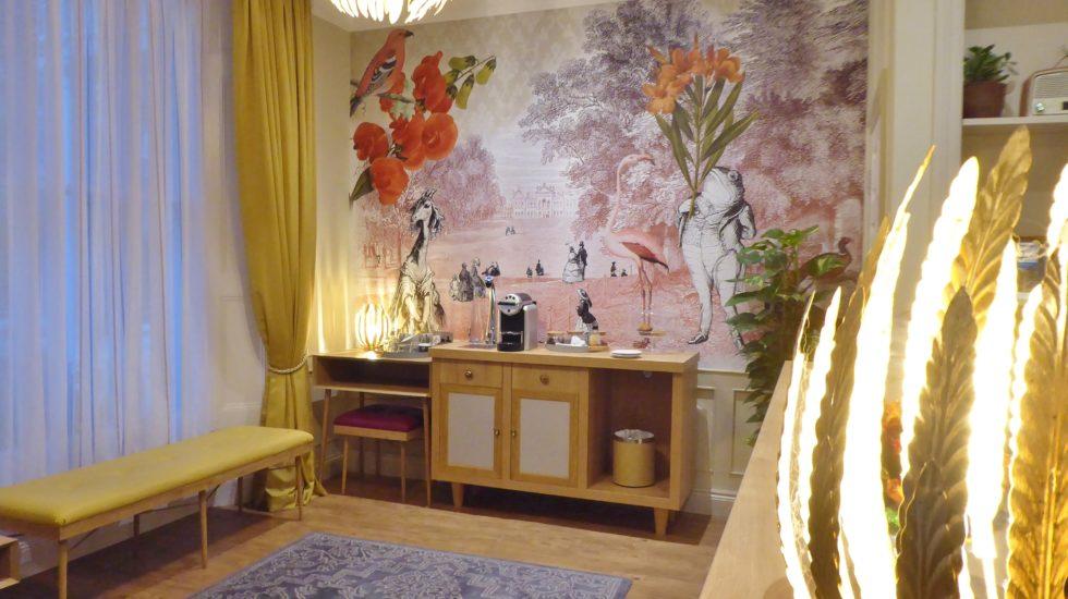 Kensington Court Hotel, un hôtel arty au coeur de Notting Hill