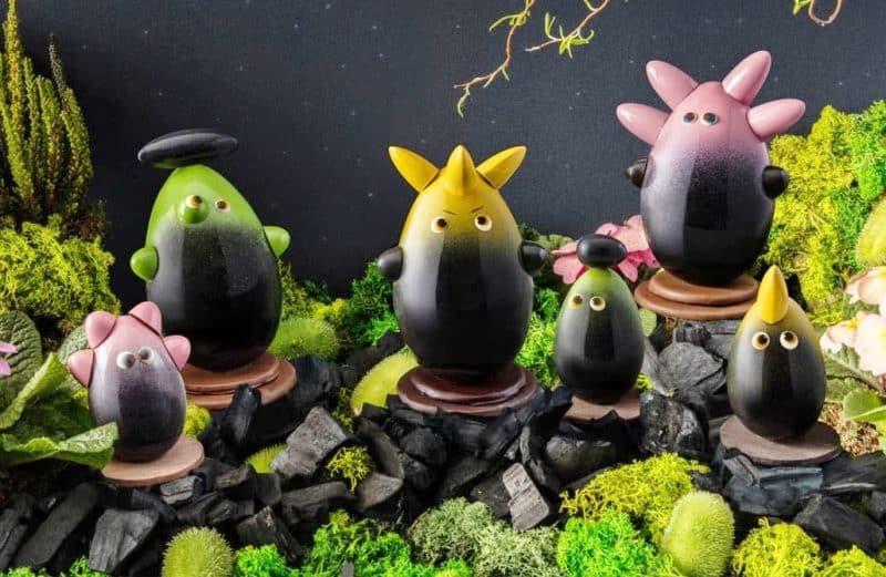Pour Pâques, la tribu des Hiliis débarque chez Edwart Chocolatier !