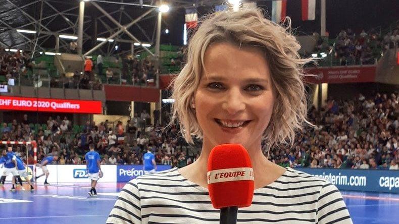 «Ma personnalité m'a facilité la tâche : sourire, bonne humeur, enthousiasme, autodérision…» France Pierron, journaliste à la chaîne L'Équipe