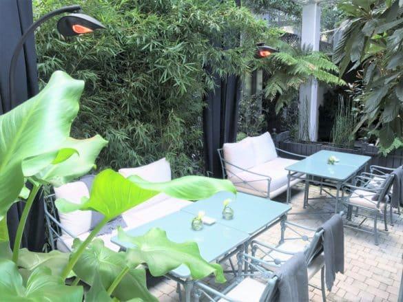 Terrasse Les Jardins du Faubourg
